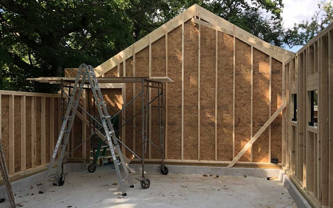 Before: Garage Construction 2