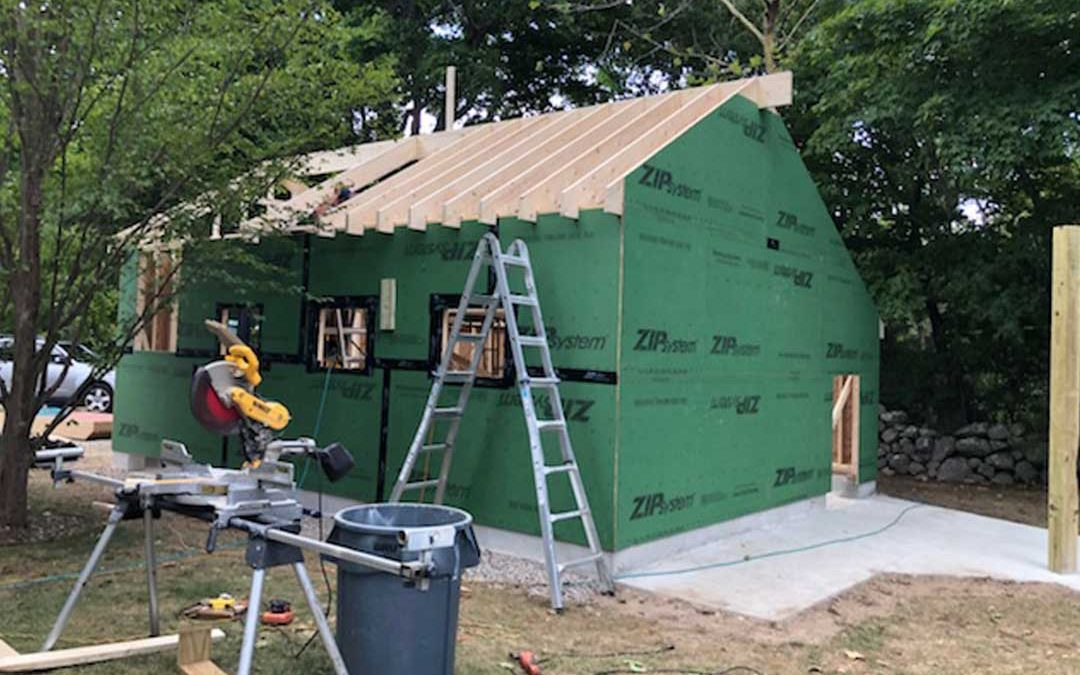 Before: Garage Construction 3
